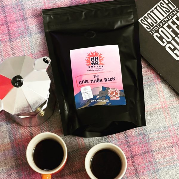 Mhor Coffee Give Mhor Back Charity Blend